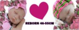 Muñecos Reborn 46-55 cm